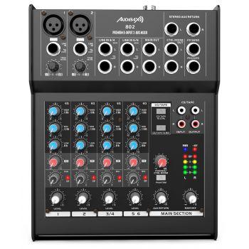 Audibax 802 Mesa Mezclas 6 Canales