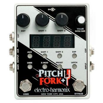 Electro Harmonix Pitch Fork + Pedal Efectos