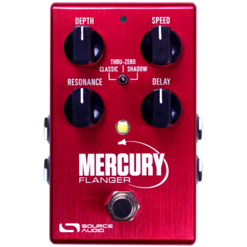 Source Audio SA240 Mercury Flanger Pedal Efectos Para Guitarra y Bajo