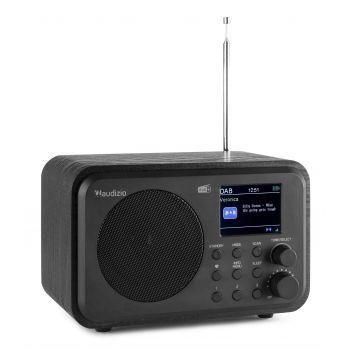 Audizio Milan Radio Portable DAB + BT con Batería Color Negro 102212