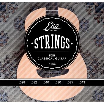 Eko Clasica Nylon Medium 28-43 Cuerdas para Guitarra Clasica