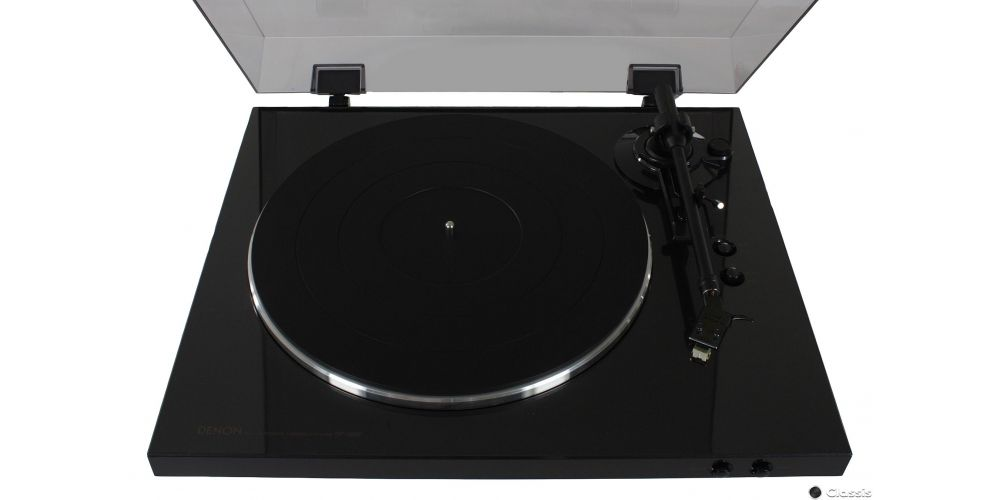 Denon DP 300F black tapa