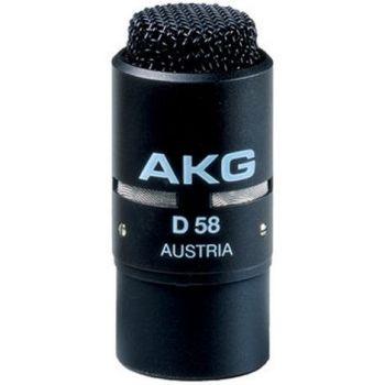 AKG D-58 E Microfono Conferencias D58E Microfono Ambiente
