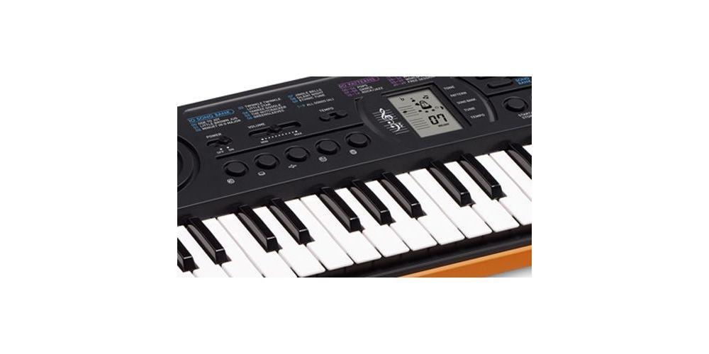 casio sa76 teclado mini details