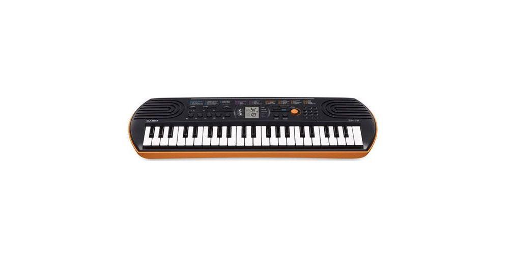 casio sa76 teclado mini
