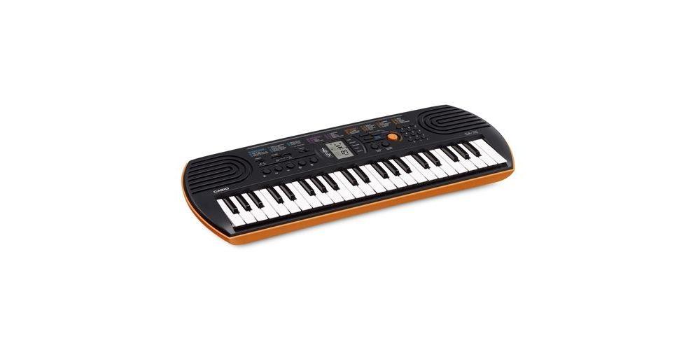teclado casio sa76 mini