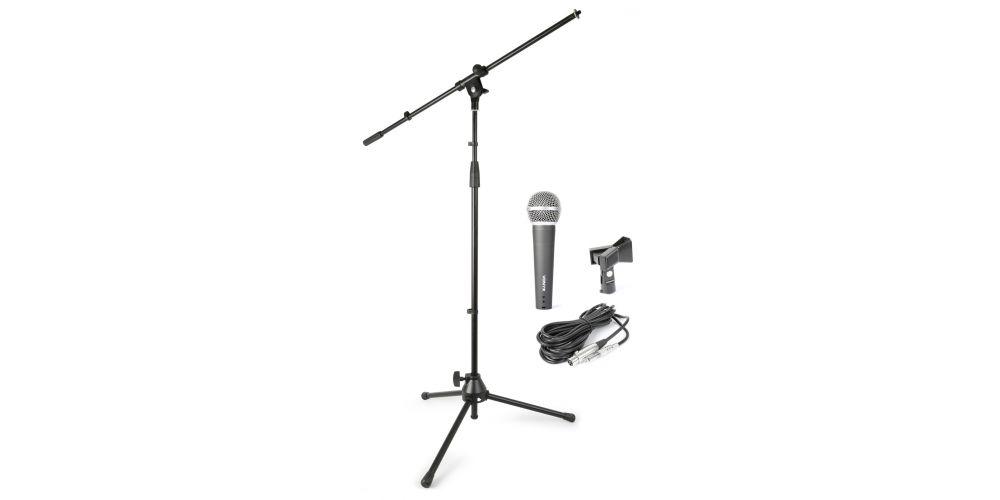 kit soporte microfono vonyx 180059