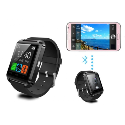 Reloj Smartwatch Bluetooth Rojo