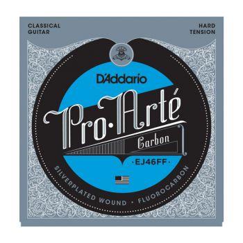 D Addario EJ-46FF Carbon Cuerda Guitarra Clásica
