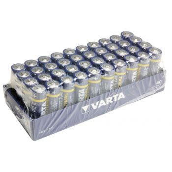 VARTA VIMN4006 Pack de 40 Pilas 1,5v AA
