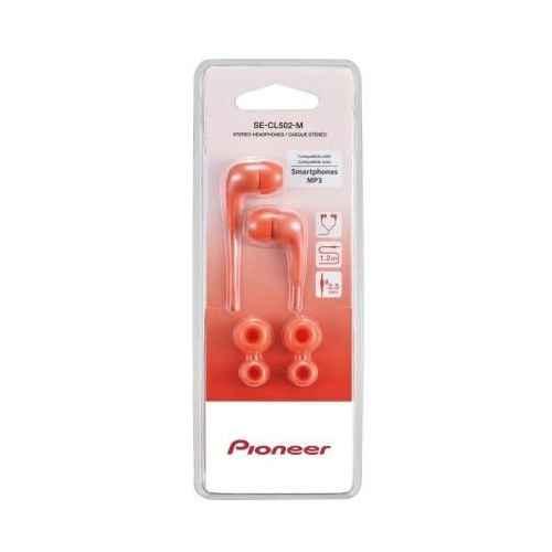 PIONEER SE-CL502R Auricular Estereo  Abierto Rojo