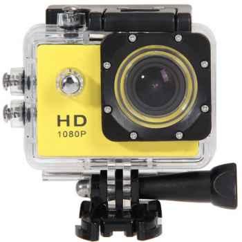 "EBOX ECD-6301 Action Cam 1080p. Pantalla 2"". Sumergible 30m Amarilla"