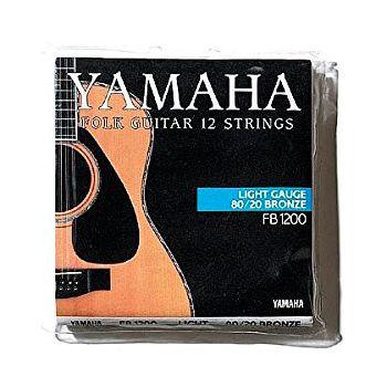 YAMAHA FB1200 Cuerdas Guitarra Acustica 12 Cuerdas