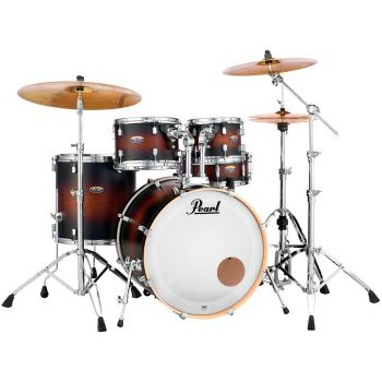 Pearl Decade Maple DMP925/F Satin Brown Burst, Set Bateria
