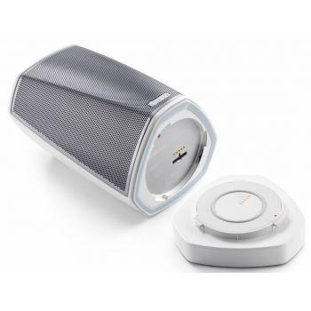 DENON HEOS 1 HS2 GO PACK  White,  Altavoz Wifi  + GOPACK Bateria Bluetooth ( REACONDICIONADO )