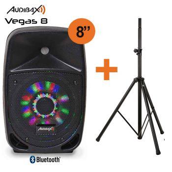 Audibax VEGAS 8Altavoz Profesional Bluetooth 8