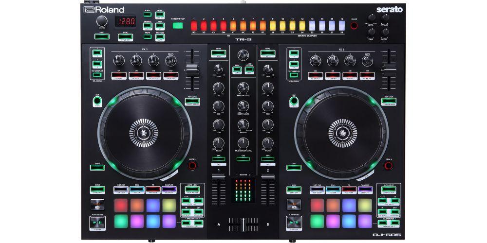 Roland DJ 505 controles