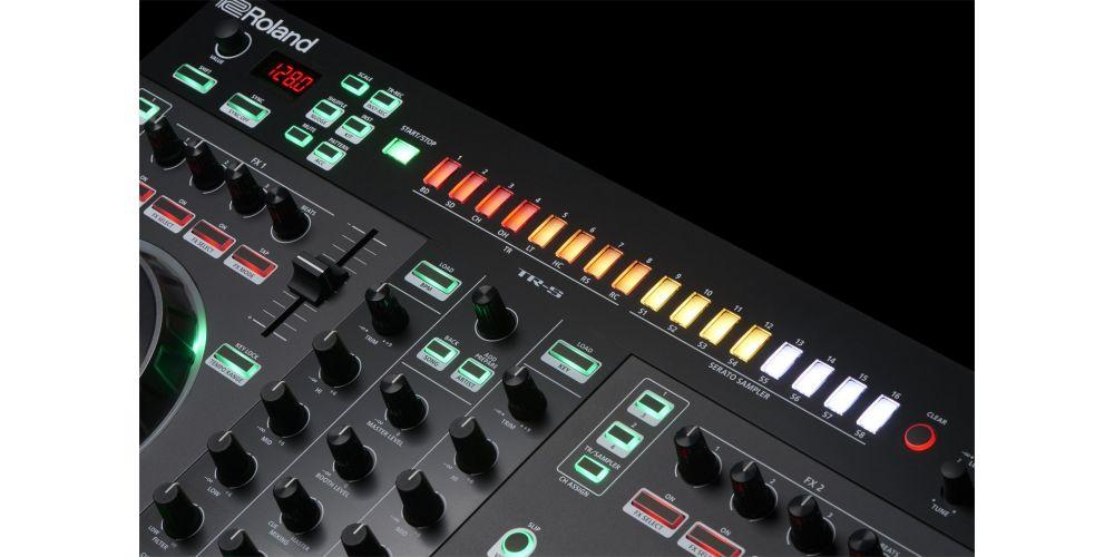 Roland DJ 505 leds