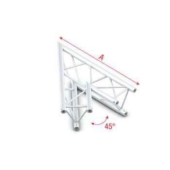 Showtec Corner 45 Esquina de Truss Triangular DT22001