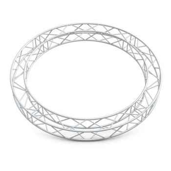 Showtec GQ30 Square Truss Circle Truss Circular de Perfil Cuadrado 8 metros GQ30C8