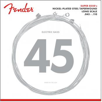 Fender 8250 Bass Cuerdas de Niquel plateadas 8250M .045-.110