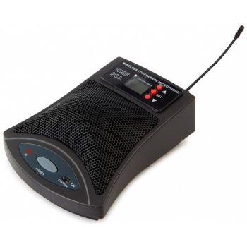 Fonestar MSHT-46B-863 Micrófono inalámbrico de sobremesa UHF