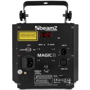 Beamz Magic 2 Derby con Laser RG y strobo 153734