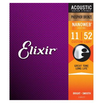 Elixir Nanoweb 16027 Custom Light Phosphor 11-52