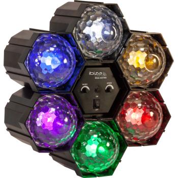 Ibiza Light JDL6-ASTRO Secuenciador de Iluminacion Con 6 Astros de Led