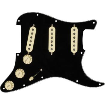 Fender Golpeador Pre-Wired Strat Custom Shop Texas Special SSS Black
