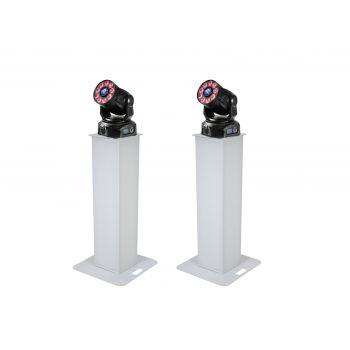 Eurolite Set 2x Soporte de Escenario 100cm + 2x LED TMH-75 COB