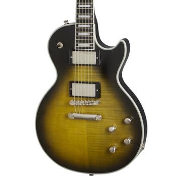 Epiphone Les Paul Prophecy Olive Tiger Aged Gloss Guitarra Eléctrica