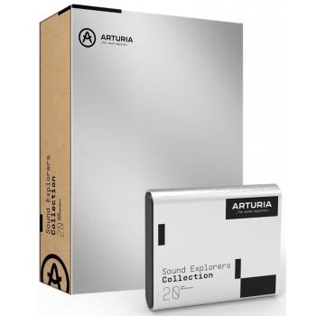 Arturia Sound Explorers Collection Colección de Todos los Instrumentos y Efectos de Arturia