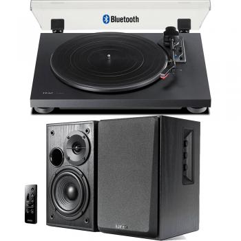 Equipo HiFi TEAC TN-180 BT Giradiscos Bluetooth + Edifier R1580MB Altavoces Activos
