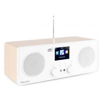 Audizio Bari Radio Wifi Estéreo Blanco
