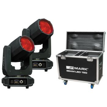 MARK 2 x Beam LED 150 Cabeza Móvil y Rack