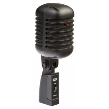 Proel Eikon DM55V2BK Micrófono Vocal Dinámico Profesional vintage Negro Satinado