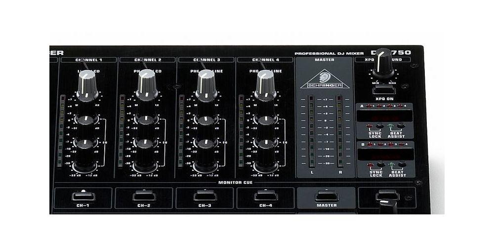 behringer djx 750 mezclador 6