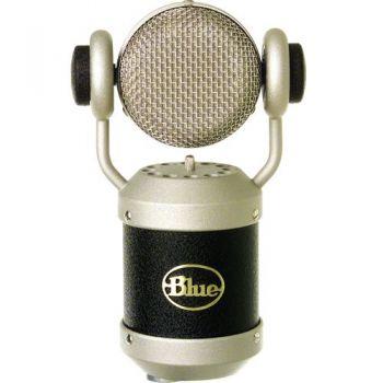 Blue Mouse Micrófono de condensador con cabeza rotatoria