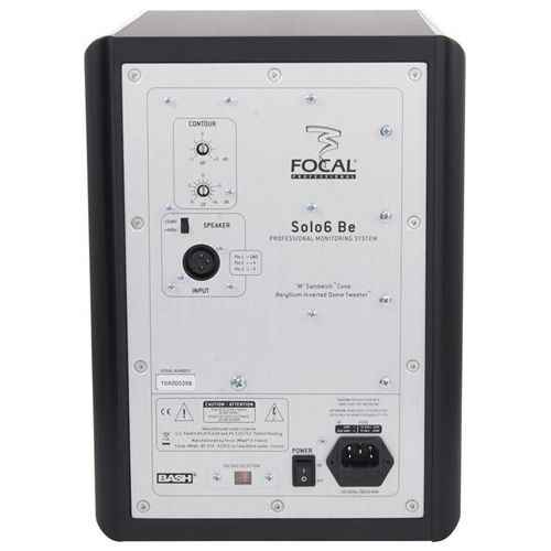 FOCAL SOLO6-BE Monitor Estudio, Negro Und