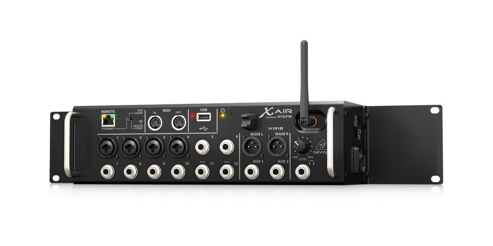 behringer xr12 rack