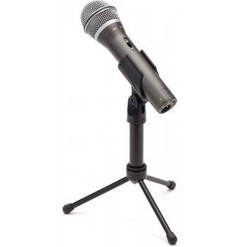 SAMSON Q2U Pack Micrófono + Soporte  para Podcast y Grabación