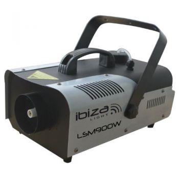IBIZA LIGHT LSM900W Maquina de Humo 900 W, Mando a Distancia