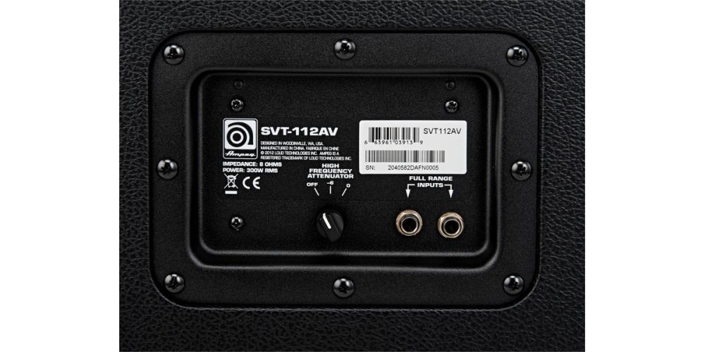 ampeg svt 112av conection