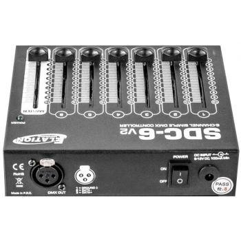 American Dj SDC-6 Faderdesk V2 black
