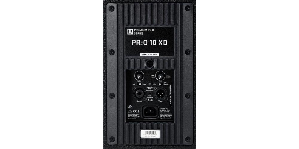 hk audio premium pro 10 xd conexiones