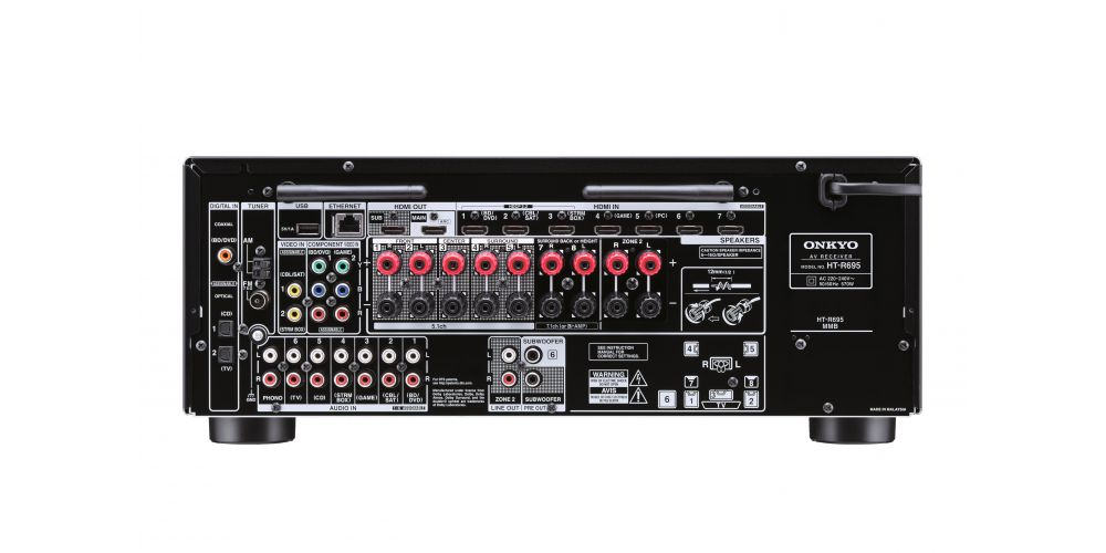 ONKYO HT-S7805 Conjunto Home Cinema ATMOS 5.1.2