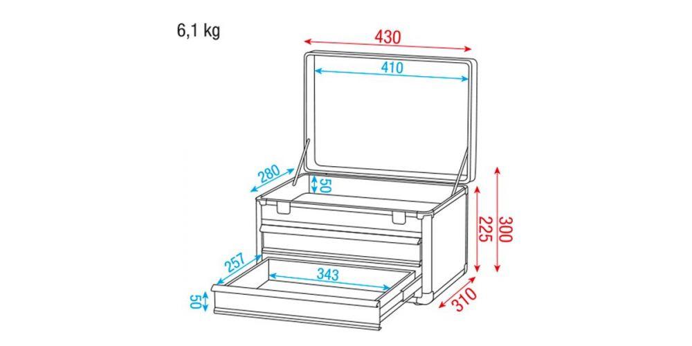 dap audio d7041 caja de herramientas medidas