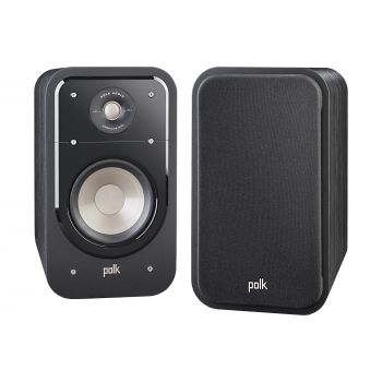 Polk audio S20 Black Pareja Altavoces