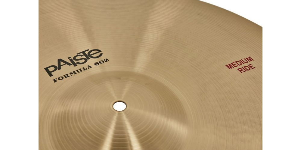 Comprar Paiste 22 FORMULA 602 MEDIUM RIDE